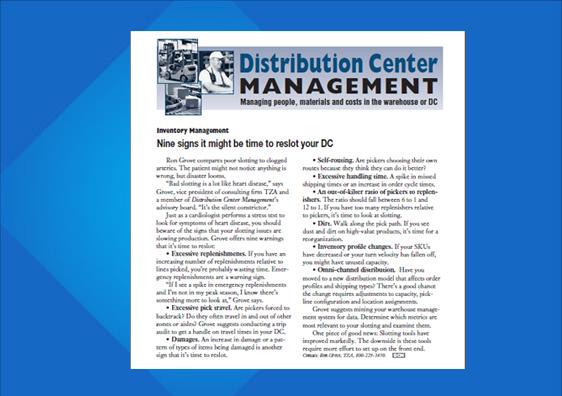 DCM Newsletter Slottting