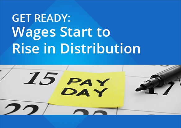 wage increases in distribution